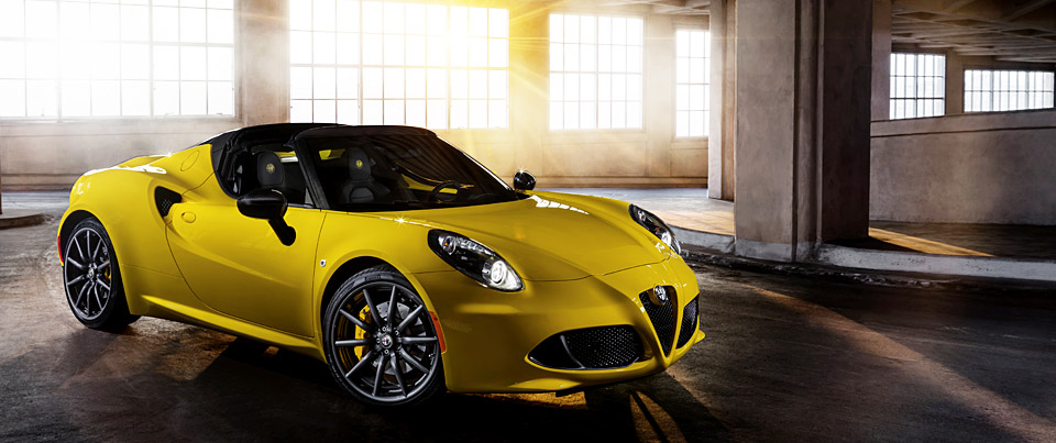 2016 alfa romeo 4c spider for sale and lease ramsey nj. Black Bedroom Furniture Sets. Home Design Ideas