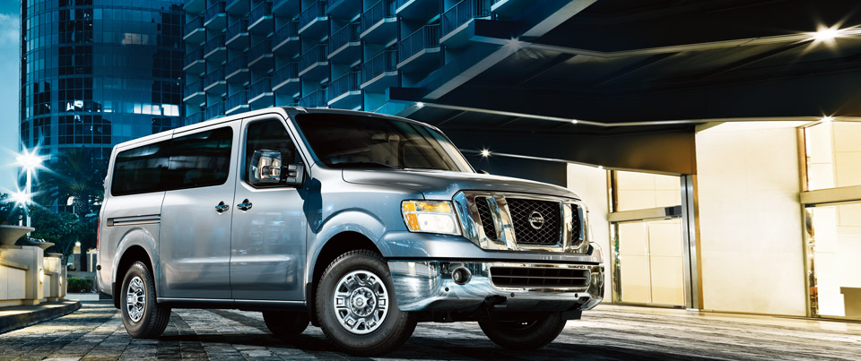 2017 Nissan NV Passenger |Your source for Commercial ...